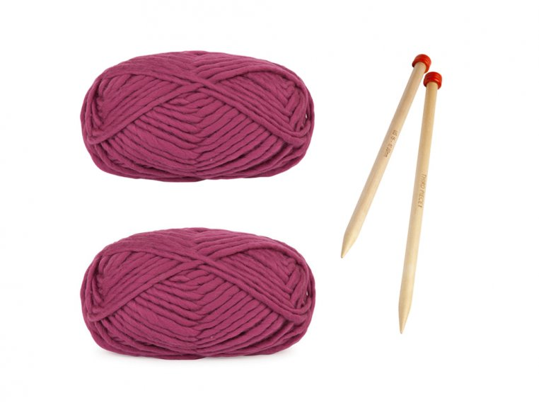 Beginner Learn to Knit Scarf Kit by Third Piece - 3