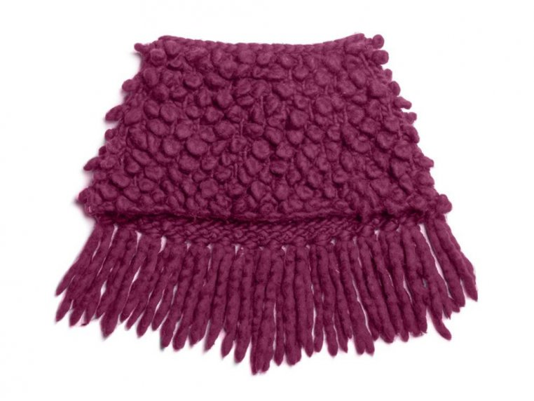 Intermediate Bowery Loopy Cowl Knit Kit by Third Piece - 2