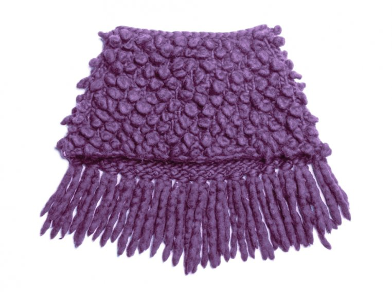 Intermediate Bowery Loopy Cowl Knit Kit by Third Piece - 3