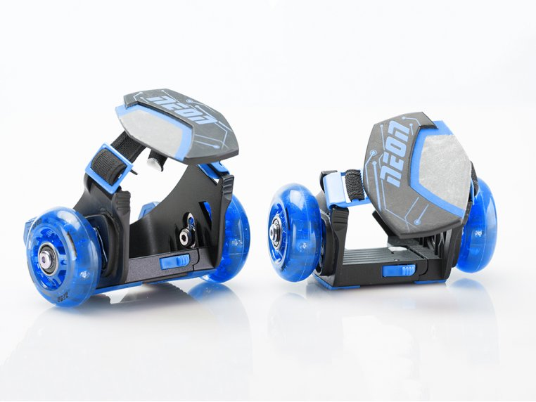 Kid's Neon Clip-On Skates by Yvolution - 5