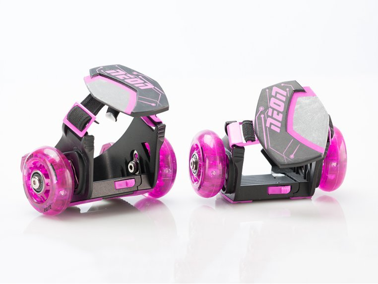 Kid's Neon Clip-On Skates by Yvolution - 6