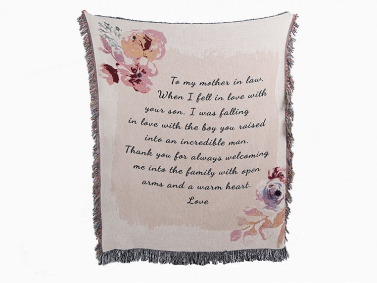 Personalized Woven Message Blanket by MentionedYou - 6