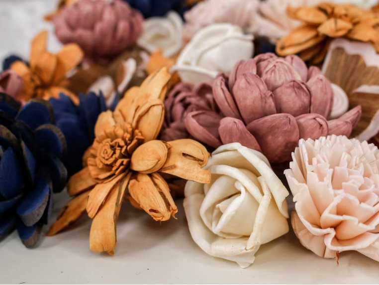 Assorted Wooden Flowers by Sola Wood Flowers - 2
