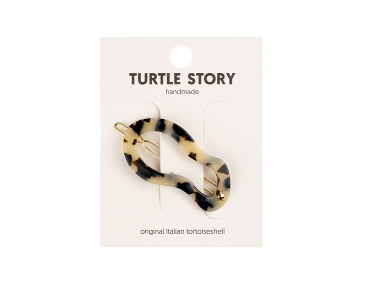 Handmade Hair Clip Barrettes by Turtle Story - 2