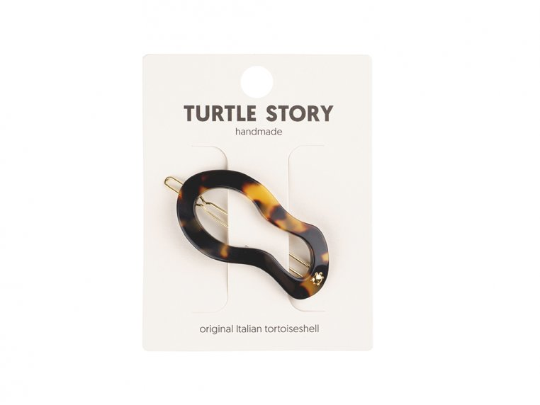Handmade Hair Clip Barrettes by Turtle Story - 3