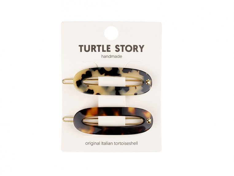 Handmade Hair Clip Barrettes by Turtle Story - 4