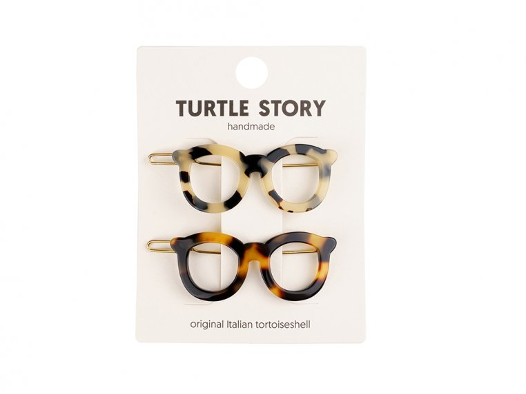 Handmade Hair Clip Barrettes by Turtle Story - 5