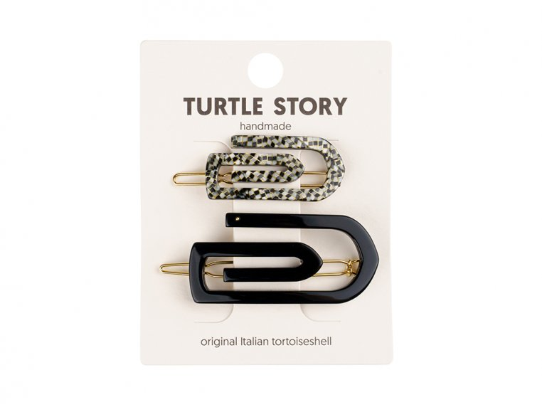 Handmade Hair Clip Barrettes by Turtle Story - 7