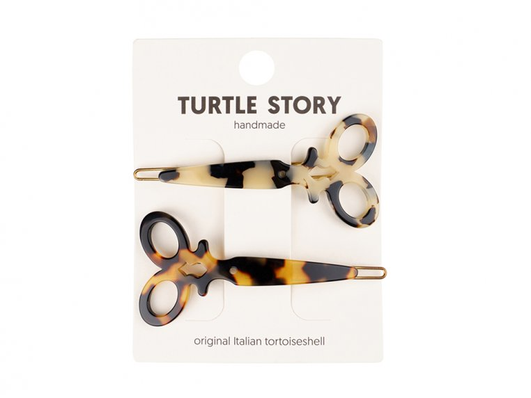 Handmade Hair Clip Barrettes by Turtle Story - 8