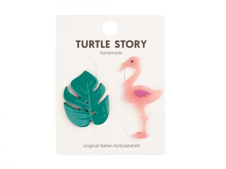Handmade Hair Clip Barrettes by Turtle Story - 12