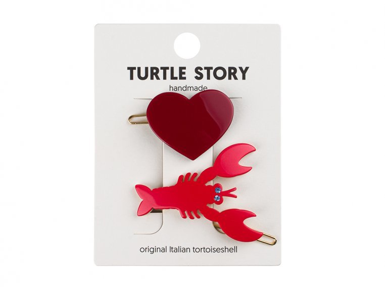 Handmade Hair Clip Barrettes by Turtle Story - 13