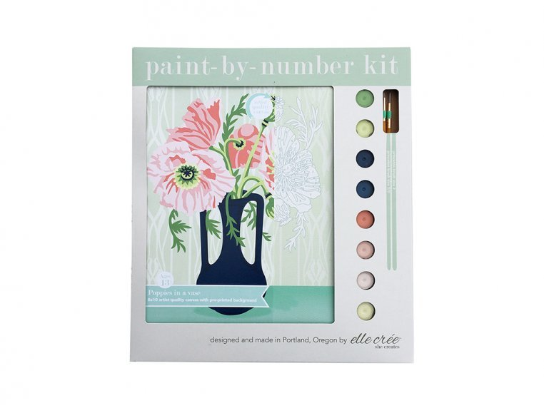 Modern Paint By Number Art Kit by elle crée - 7