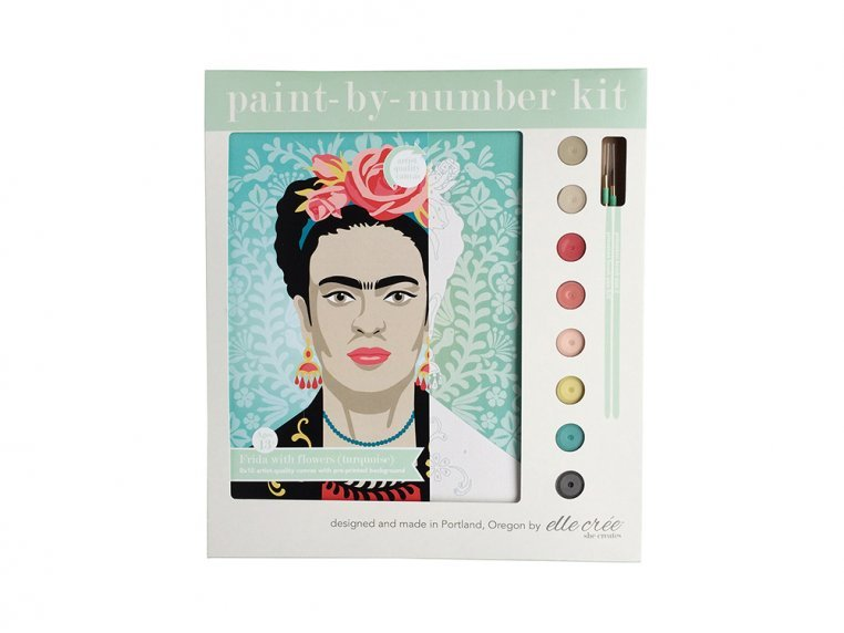 Modern Paint By Number Art Kit by elle crée - 8