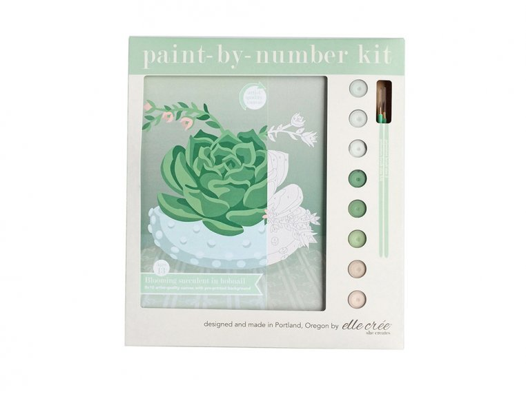 Modern Paint By Number Art Kit by elle crée - 9
