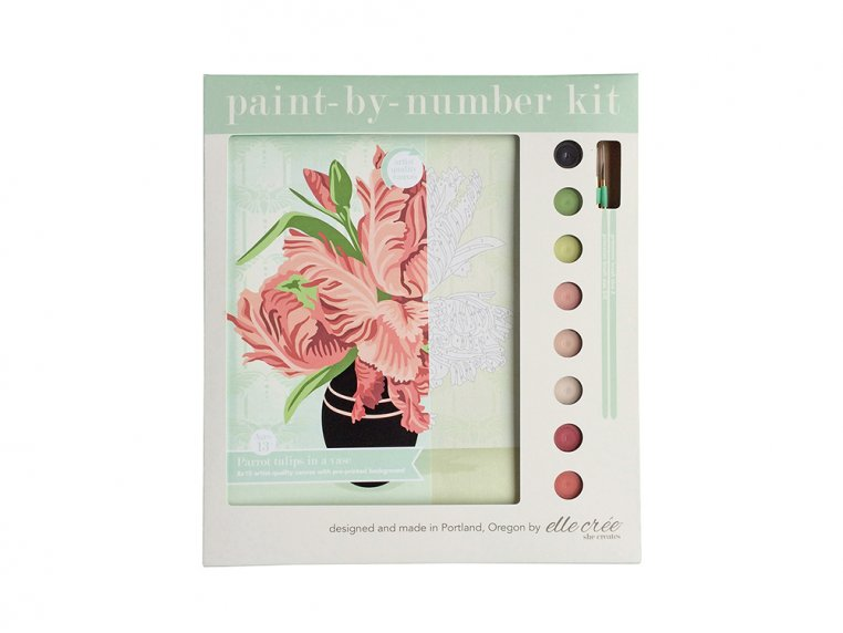 Modern Paint By Number Art Kit by elle crée - 11