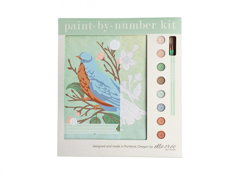 Modern Paint By Number Art Kit by elle crée - 12