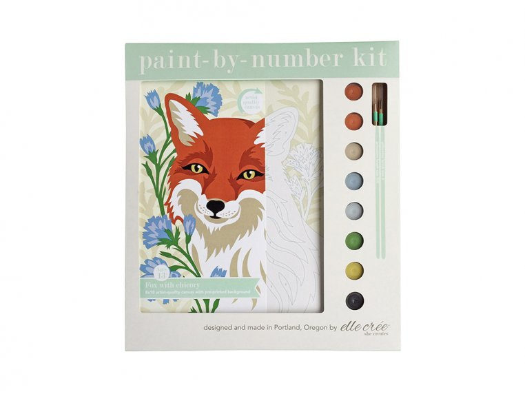 Modern Paint By Number Art Kit by elle crée - 13