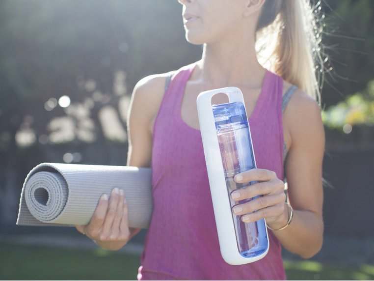 Ergonomic BPA-Free Water Bottle by Kor Water - 4