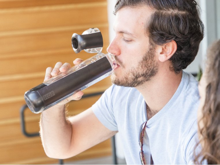 Ergonomic BPA-Free Water Bottle by Kor Water - 5