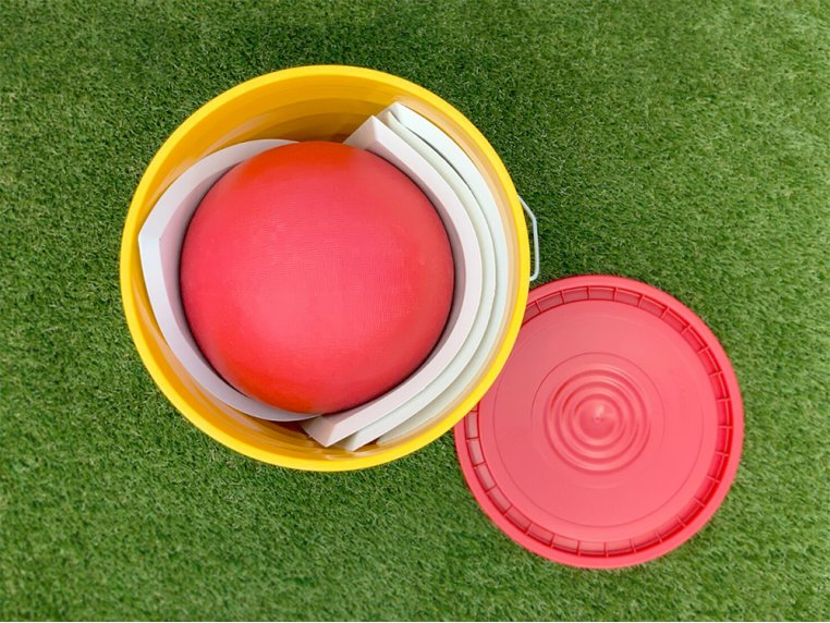 On-The-Go Kickball Set by Yardbird Outside - 3