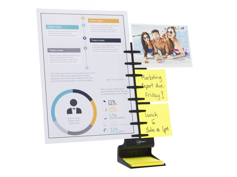 Desk Standing Note & Copy Holder by Note Tower - 3
