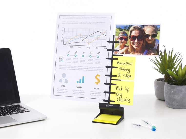Desk Standing Note & Copy Holder by Note Tower - 1