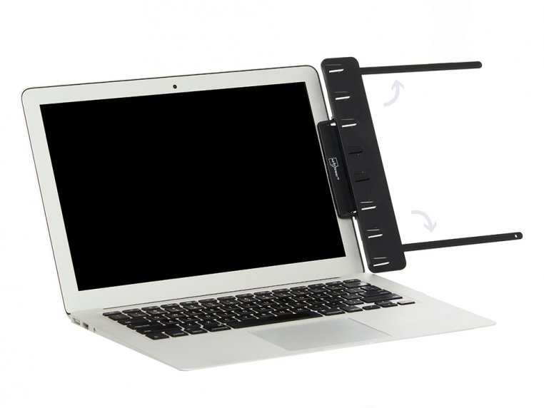Attachable Monitor Note & Copy Holder by Note Tower - 4