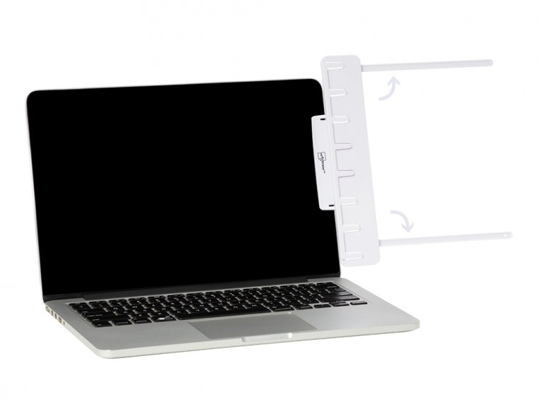 Attachable Monitor Note & Copy Holder by Note Tower - 5