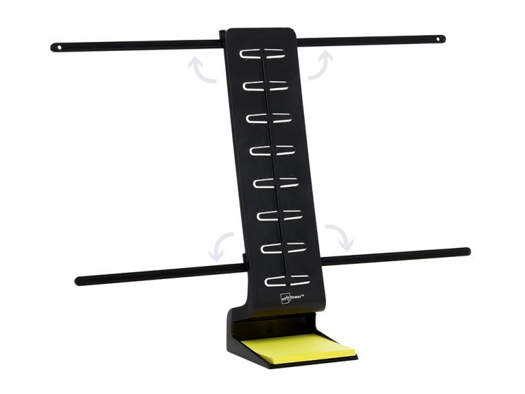 Desk Standing Note & Copy Holder by Note Tower - 5