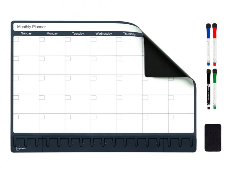 Magnetic Refrigerator Planner by Note Tower - 4