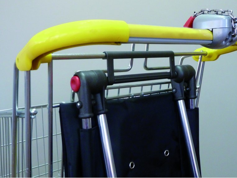 Dual Folding System Shopping Trolley Bag by Rolser - 2