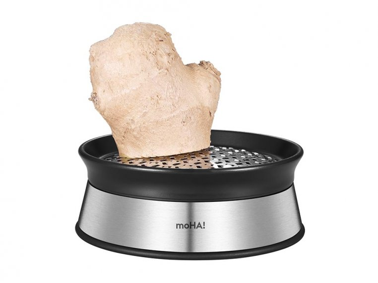 Stainless Steel Ginger Grater by moHA! - 1