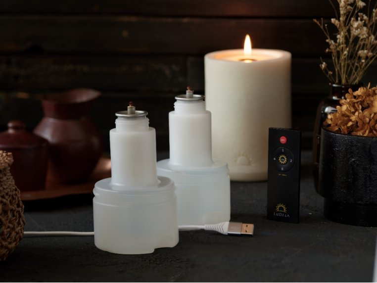 Remote Control Candle Starter Set by LuDela - 2