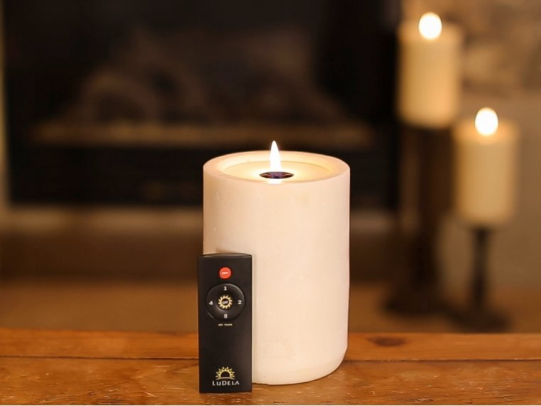 Remote Control Candle Starter Set by LuDela - 3