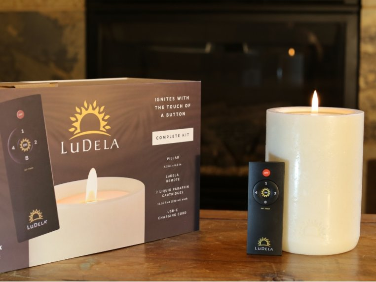 Remote Control Candle Starter Set by LuDela - 4