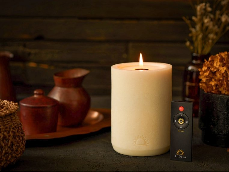 Remote Control Candle Starter Set by LuDela - 1