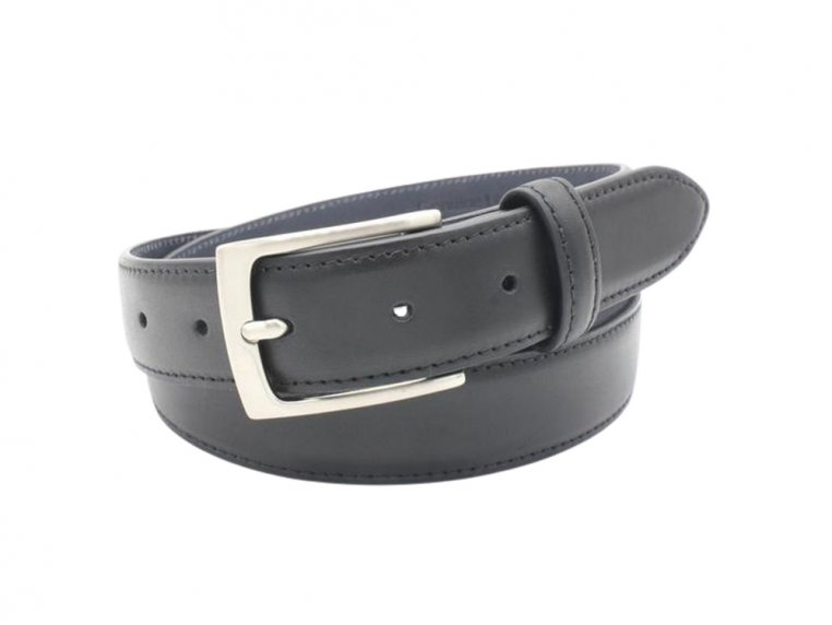 Navigator Stitched Edge Leather Belt by Hyde Belt Company - 2