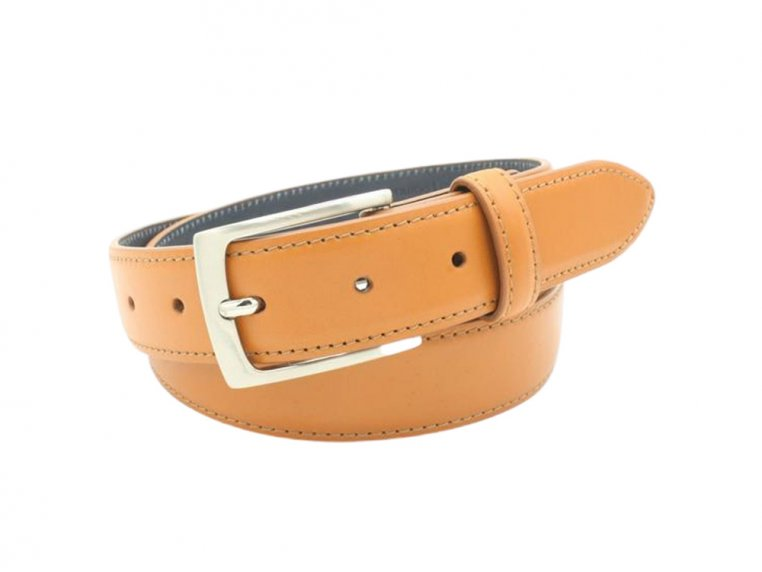 Navigator Stitched Edge Leather Belt by Hyde Belt Company - 3