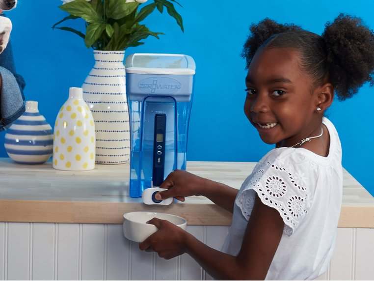 Water Dispenser with TDS Meter - 30 Cup by ZeroWater - 1