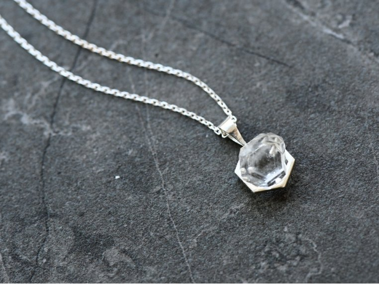 Crystal Making Sterling Necklace Kit by Mine & Shine - 2