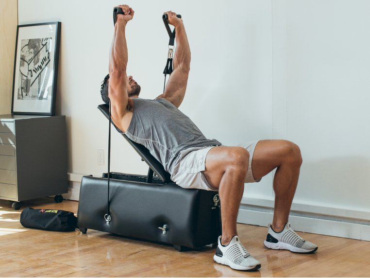 Pro Gym Workout Bench with Incline by Zeno Gym - 1