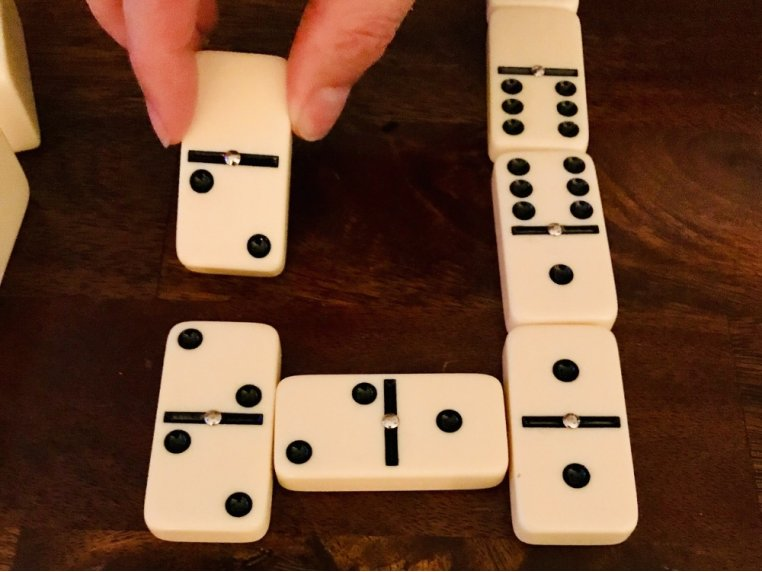 Classic Double 6 Dominoes Game Set by New Entertainment - 2