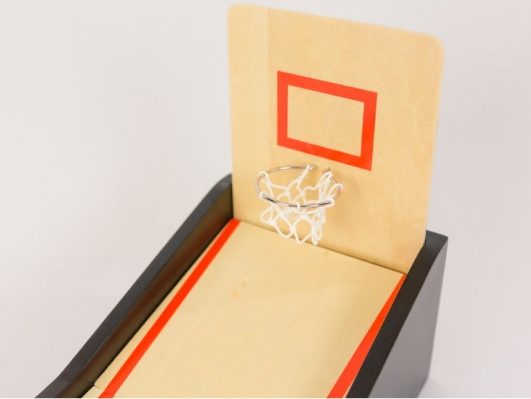 Mini Tabletop Basketball Game by New Entertainment - 3