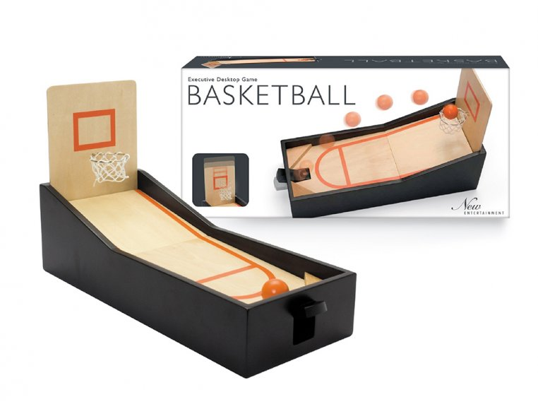 Mini Tabletop Basketball Game by New Entertainment - 1