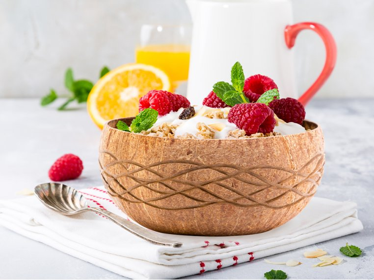 Decorative Art Coconut Bowls Pack by Rainforest Bowls - 3
