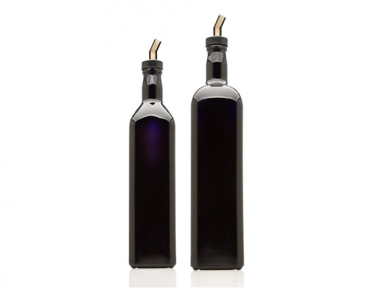 Kitchen Oil Bottles with Spout Set by Infinity Jars - 1