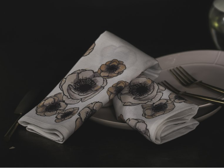 Nature Cloth Dinner Napkins - 4 Pack by Concept Fourteen - 2