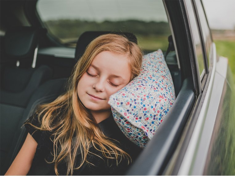 Soft & Supportive Car Travel Pillow by Petit Pillow - 3
