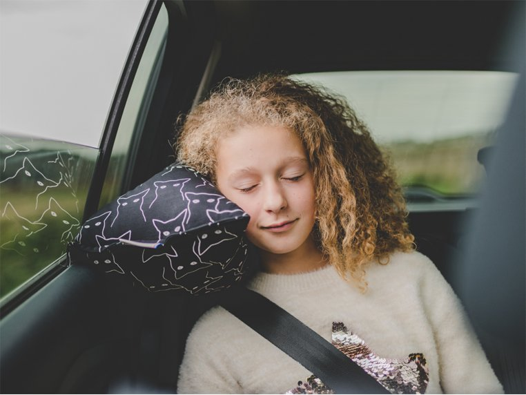 Soft & Supportive Car Travel Pillow by Petit Pillow - 2