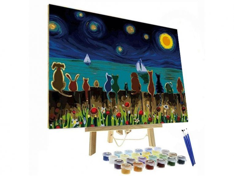 Paint By Numbers DIY Painting Kit by Original Paint By Numbers - 1